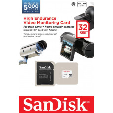Карта памяти SanDisk 32GB microSDXC C10 W20MB/s High Endurance Video Monitoring